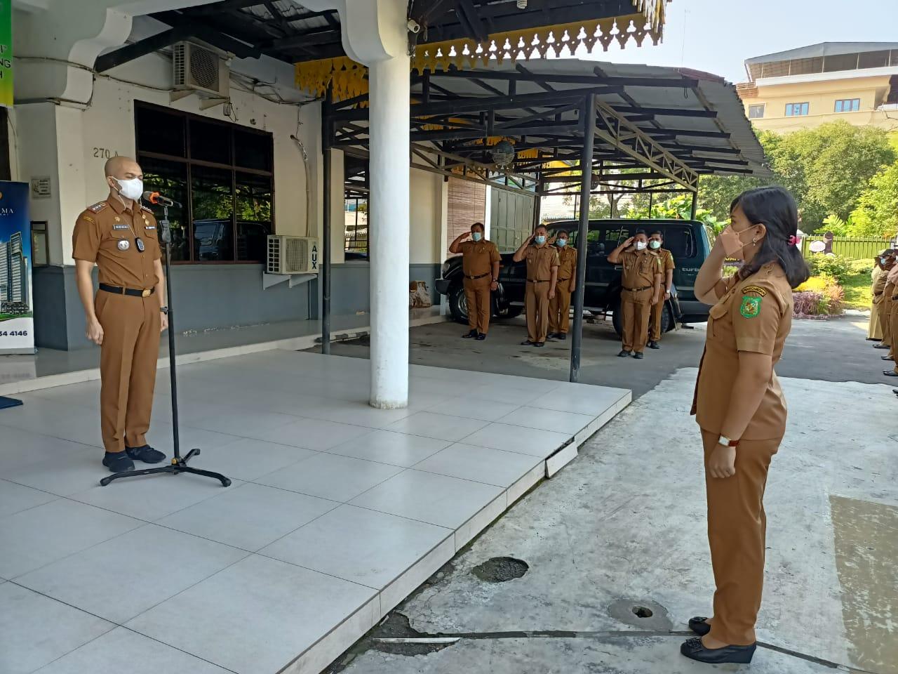 Apel Pagi Jajaran Kecamatan Medan Petisah