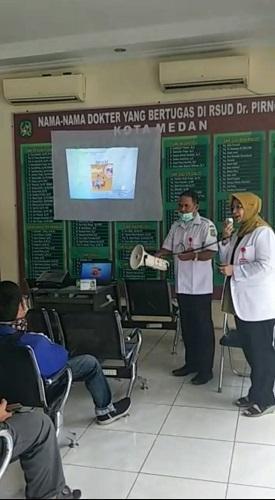 RSUD Dr Pirngadi Beri Pemahaman Kepada Pasien Tentang Penyakit Difteri