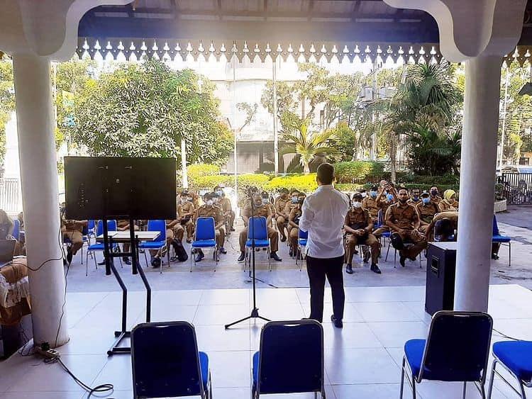 Sosialisasi BPJS Ketenagakerjaan Bersama Jajaran Kepala Lingkungan se-Kecamatan Medan Petisah