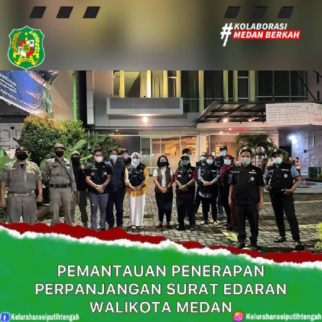 Pemantauan Penerapan Perpanjangan Surat Edaran Walikota Medan
