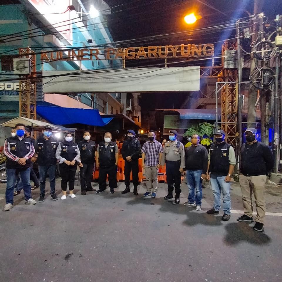 Giat Monitoring PPKM Level 4 di Kecamatan Medan Petisah