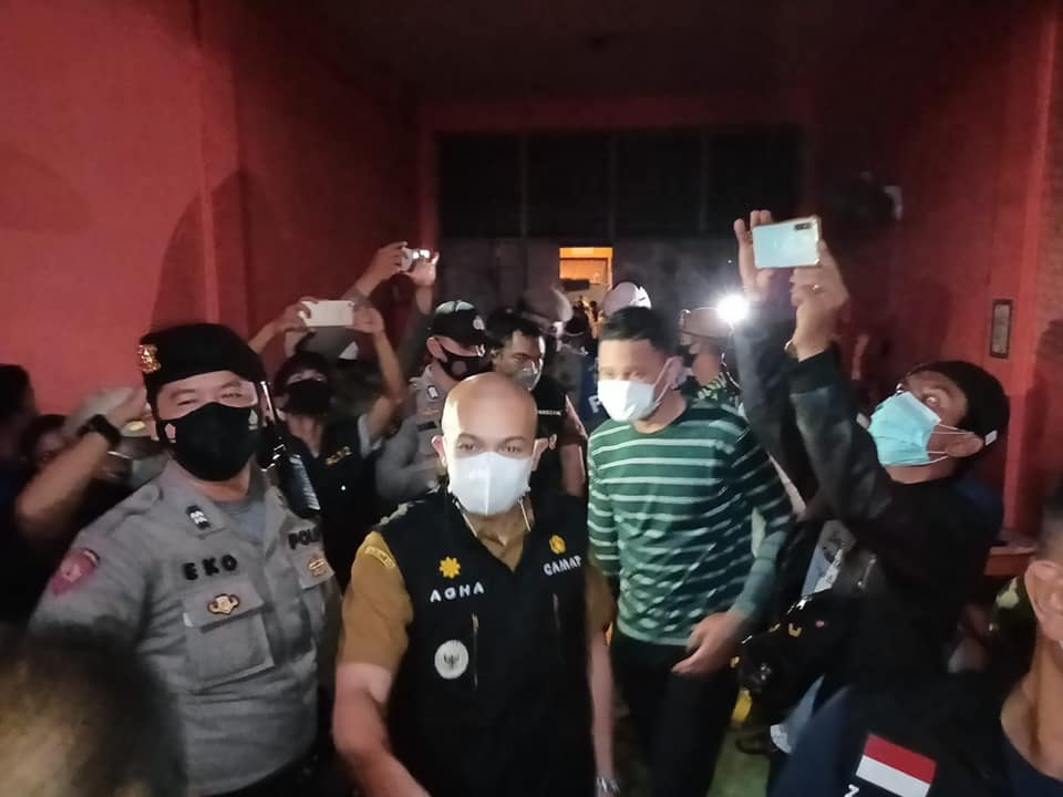 Penertiban Hotel Sibayak Di Massa PPKM Level 4
